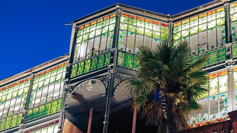 Remixed Green Art Nouveau