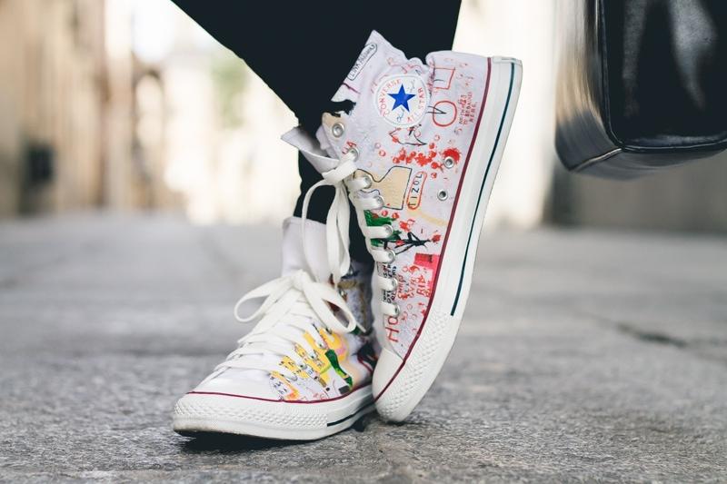 Basquiat Converse - Jeffrey Herrero